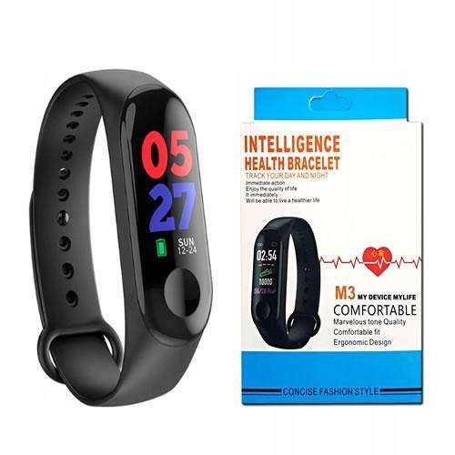 Reloj Inteligente Smart Watch Band M3 Cardiaco Presión Pasos