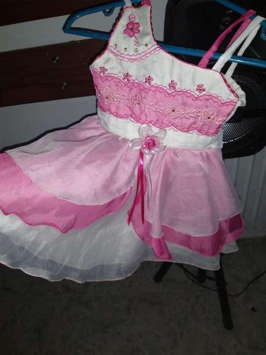 Vestido Niña T 2 Una Puesta