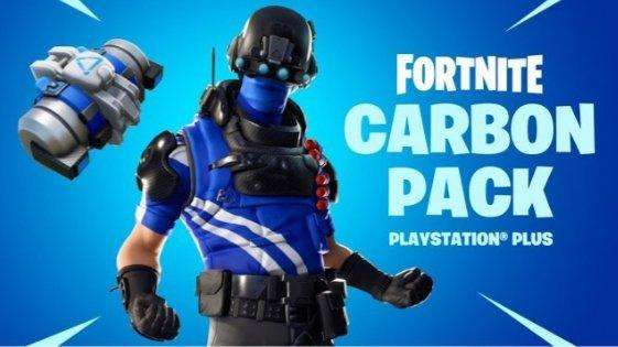 Pack Fortnite Carbono Pack 5