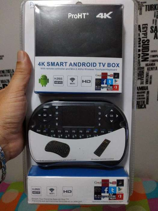 Tvbox Mas de 1900 Canales de Tv Premium