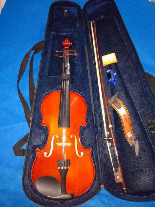 Violin Cremona con Almohadilla