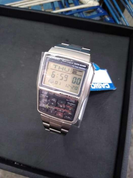 Vendo Reloj Casio Databank Nuevo
