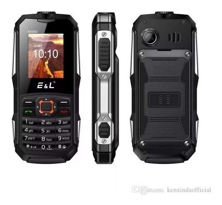 E&l S200 Ip68 2.4 Sc6531 2g Phone Fm Radio Wifi Blueto