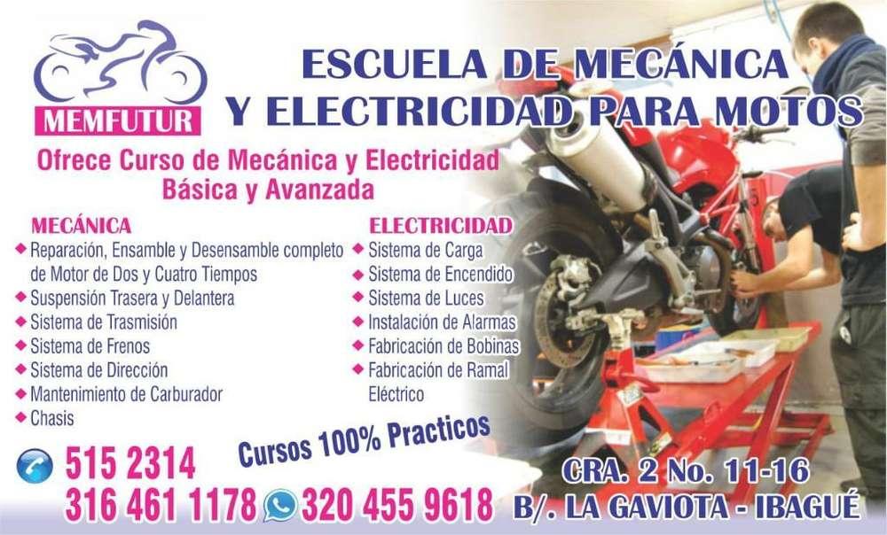Escuela de Mecánica para Motos Memfutur