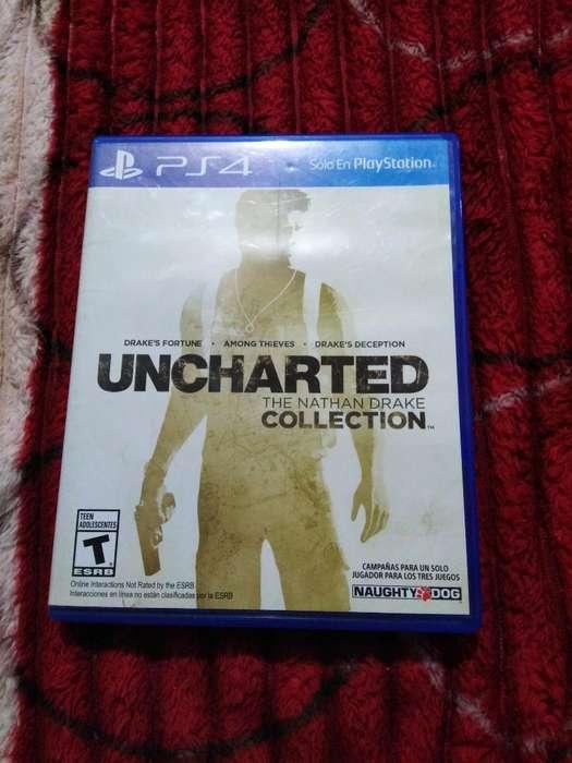 Se Vende Juego de Uncharted Collection
