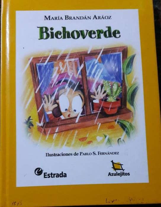 Bichoverde de Maria Brandan Araoz Editorial Estrada
