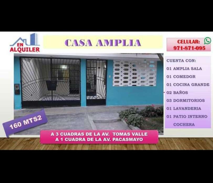 Alquiler Casa Amplia -callao