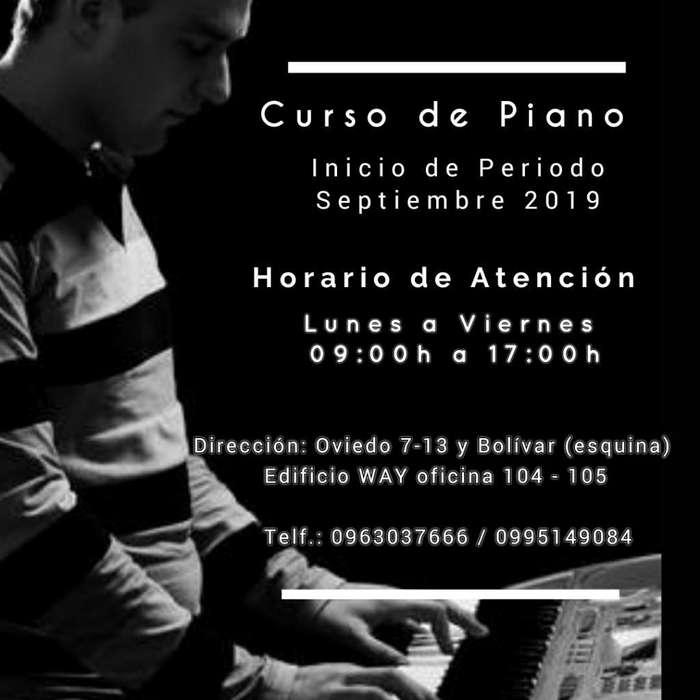 Tirio Te Invita a Su Curso de Piano