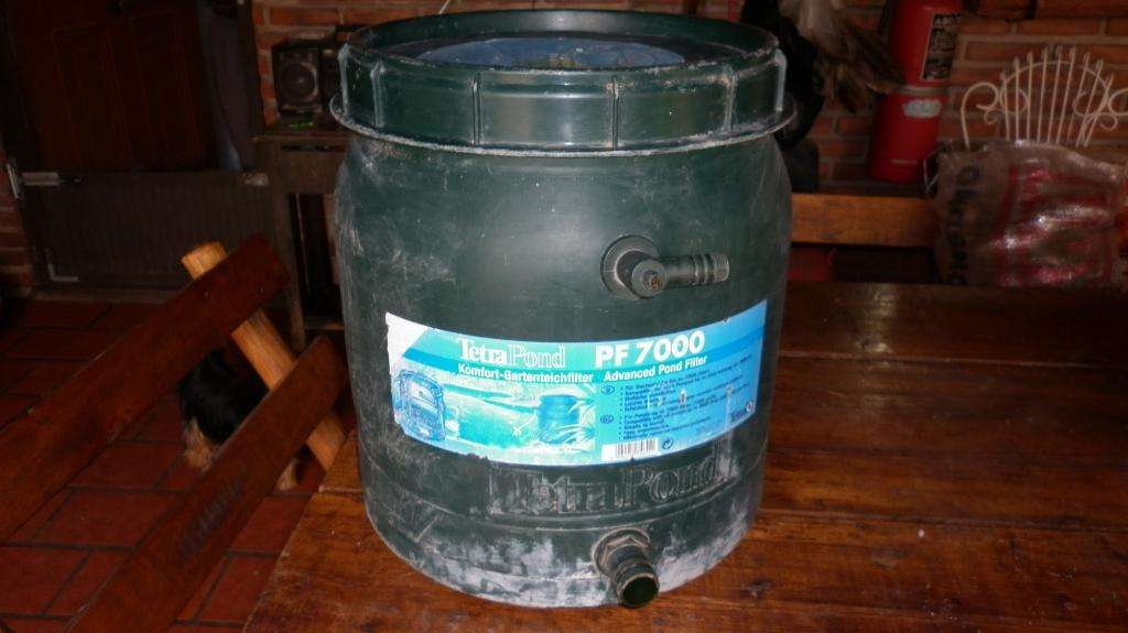 Filtro de Agua para Grandes Peceras