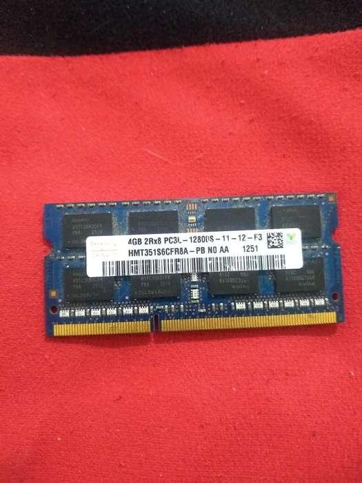 Vendo Ram Ddr3 4 Gb para Portátil