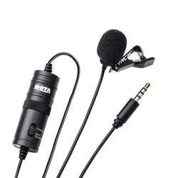 Microfono De Solapa Boya Bym1 Bym1 Para Dslr Nikon Canon
