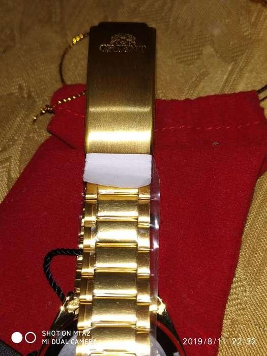 Reloj Orient Automático Dorado (nuevo)