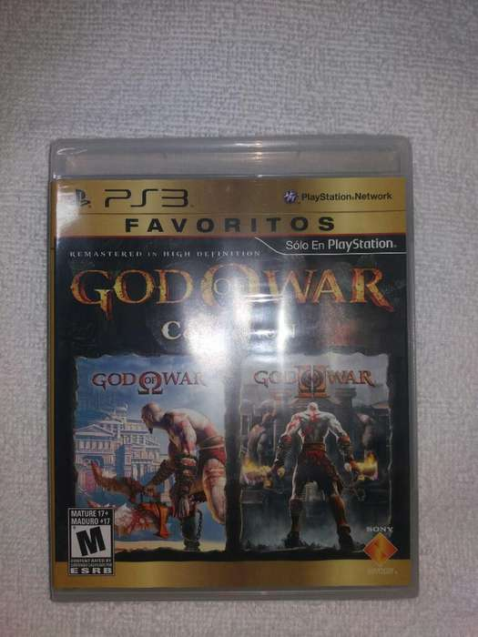 God Of War Collection 1 Y 2
