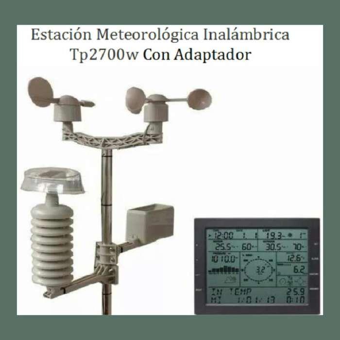 Estación Meteorológica Inalámbrica