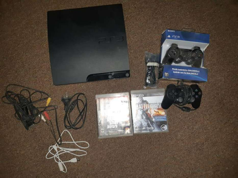 Vendo Ps3 500 Gb 6.000