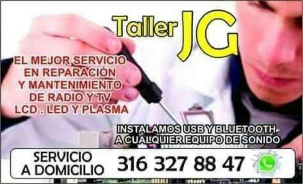 Taller Jg Servicio Tecnico en Radio Y Tv