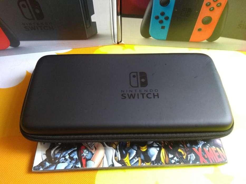 estuche rigido para nintendo switch