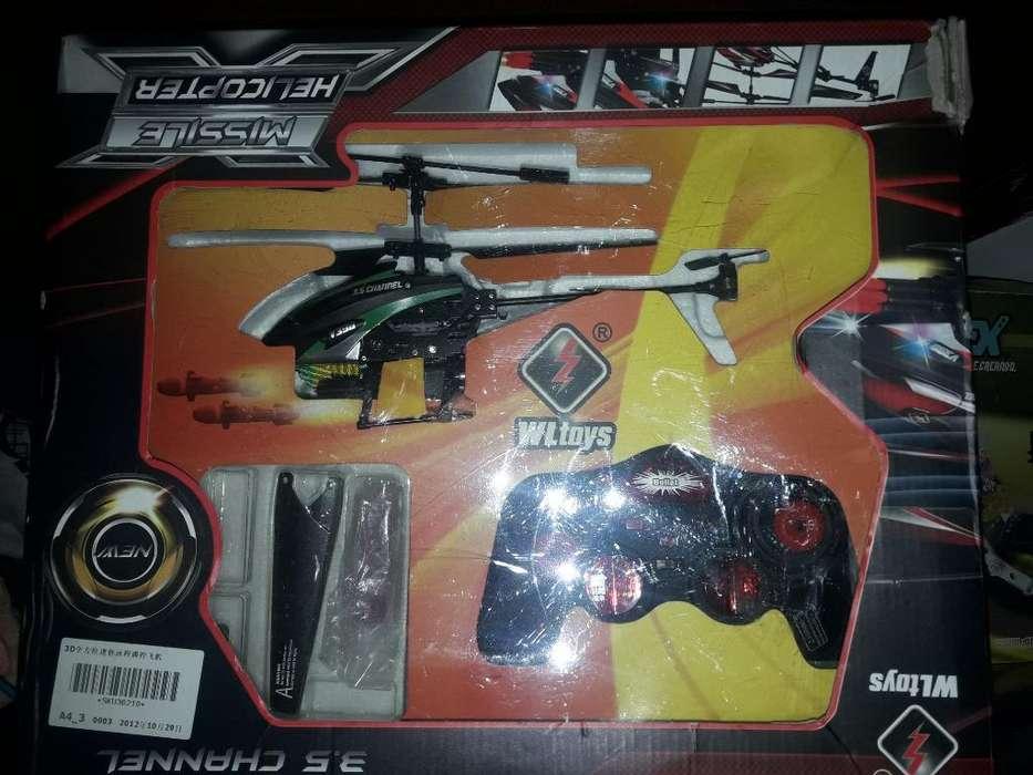 Helicoptero a Control Remoto Tiramisiles