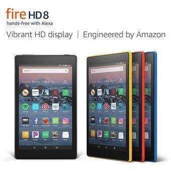 Tablet Fire HD 8 (pantalla HD de 8