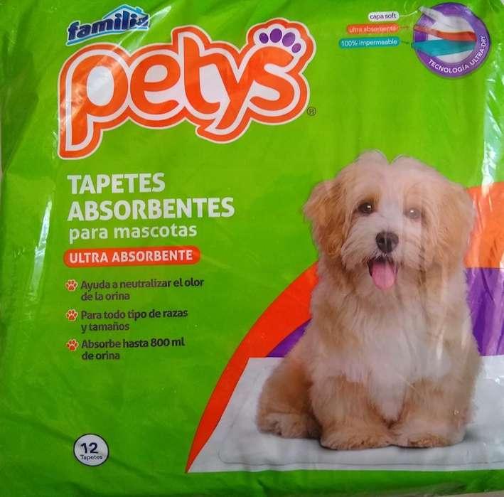 Tapetes Absorbentes para Mascotas Petys