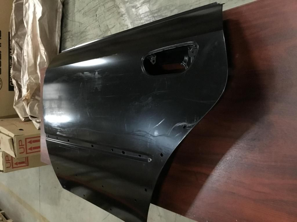 Puerta trasera izquierda Subaru Legacy-Outback 2004-2009