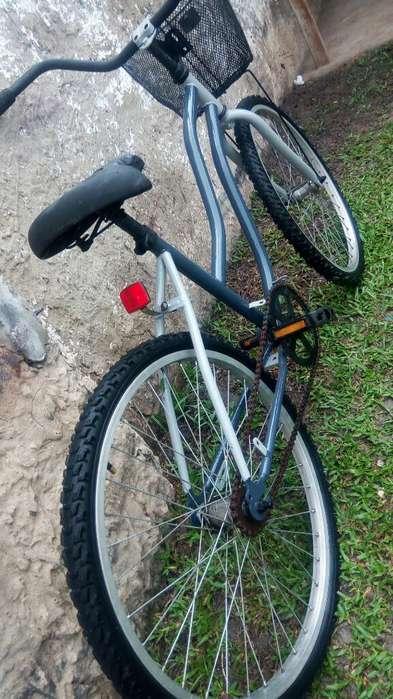 Bici Rodado 24 Completita sin Detalles
