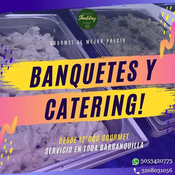 Servicio de Banquetes Barranquilla