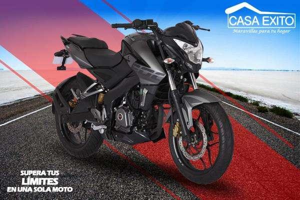 Moto Pulsar Ns200 Año 2019 200cc Color Rojo/ Negro Casa Éxito