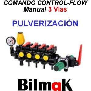 Comando Controlflow Manual De 3 Vias Pulverizacion