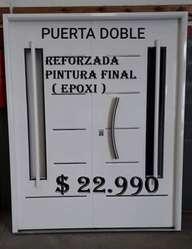 Doble Puerta Pintura Final ( Horneada)