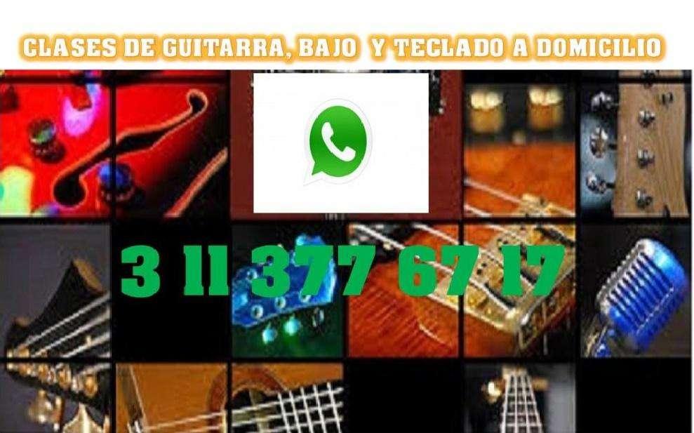 ESCUELA DE MÚSICA: GUITARRA, BAJO, PIANO, TÉCNICA VOCAL, SOLFEO, ARMONÍA, A DOMICILIO O POR SKYPE