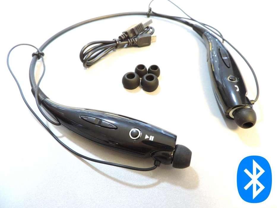 Audifonos Bluetooth con bateria recargable contestar al telefono y escuchar musica