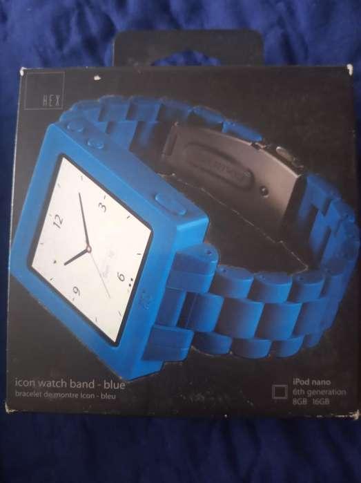 Manilla Tipo Reloj iPod Nano 4