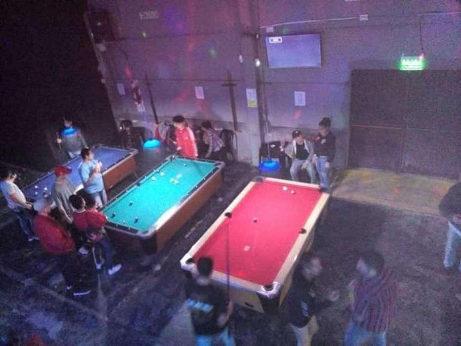 Instalacion de Mesas de Pool a Porcentaj