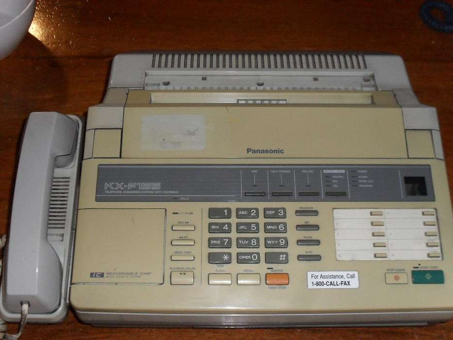 <strong>fax</strong> Panasonic Kx-f155 Con Contestador Y Manos Libres