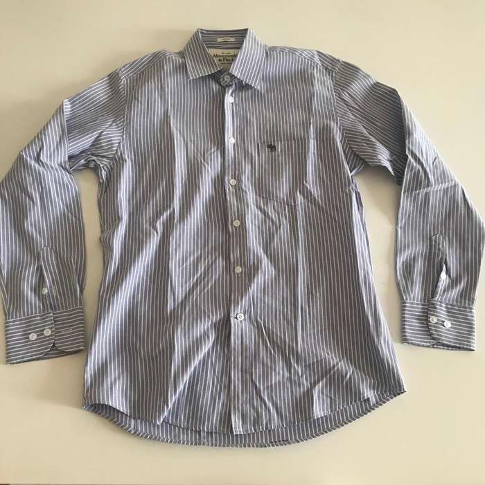 <strong>camisa</strong> rayada Abercrombie & Fitch XL