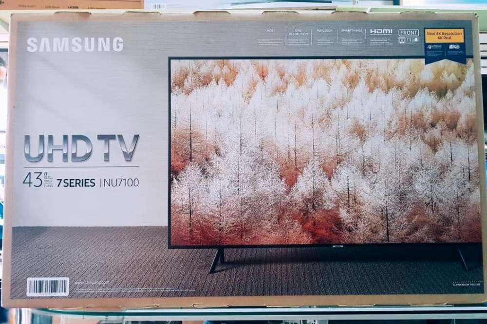 Nueva Samsung 43 4k Nu7100 Modelo 2018