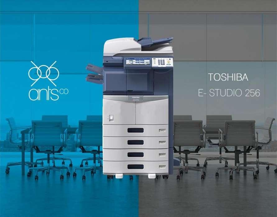 Toshiba 256 - Multifuncional Laser Blanco y Negro - Impresión, Escáner, Copiado - Usada - Ants Co