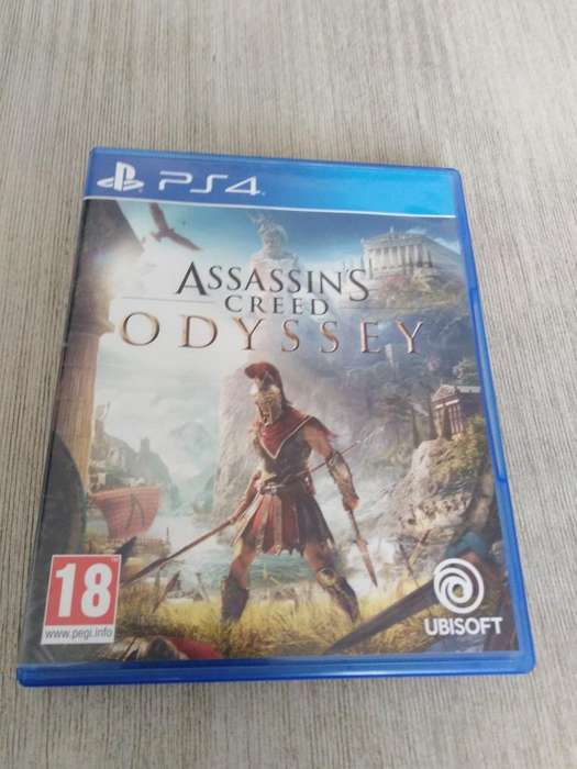Vendo Assasins Creed Odysey Ps4