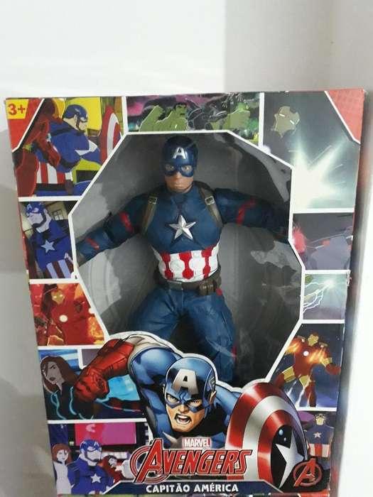 Muñeco Capitán América Avengers Gigante