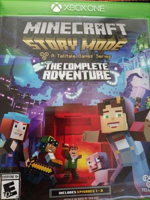 Vendo Juego Xbox One Minecraft Original