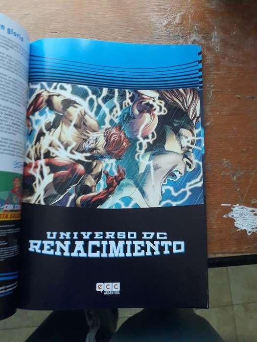 Comic Dc Renacimiento