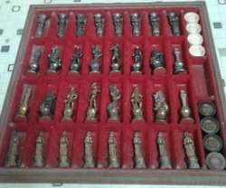 Juego de ajedrez y damas