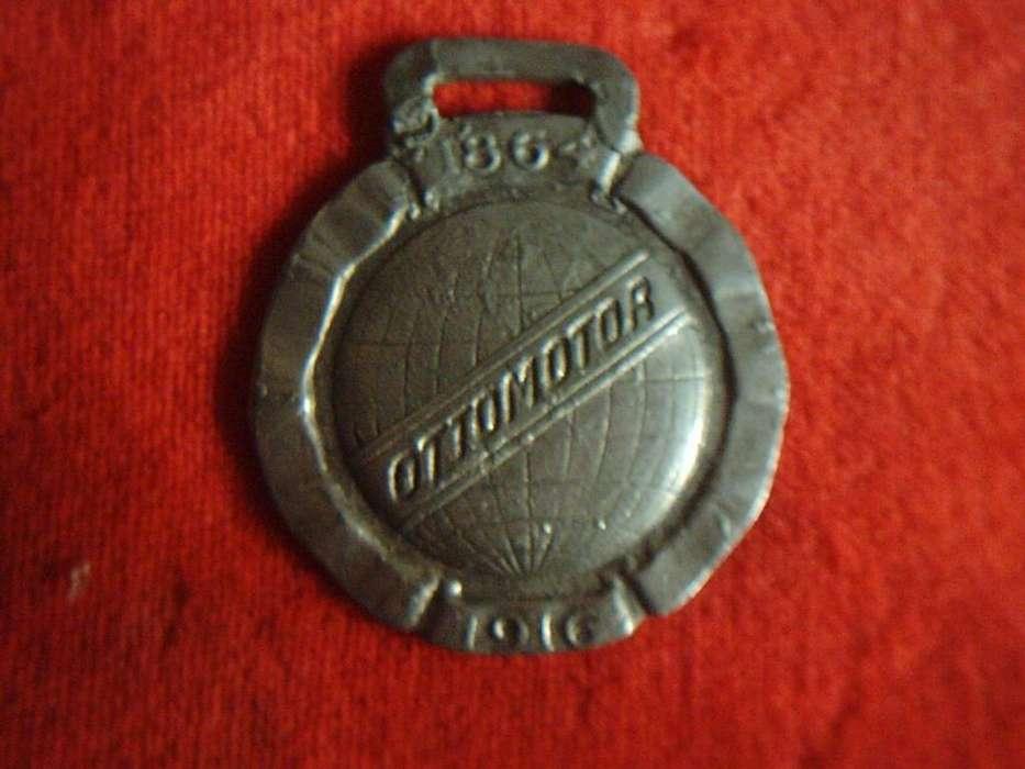 Medalla Publicitaria Ottomotor 1864 1916