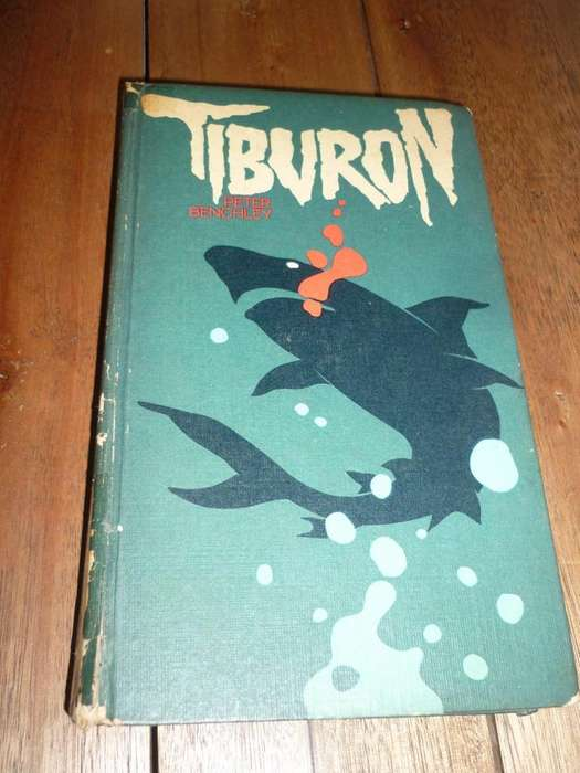 TIBURON . PETER BENCHLEY . LIBRO NOVELA CIRCULO DE LECTORES 1976