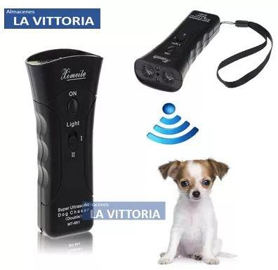 Control Ahuyentador de Mascotas Agresivas Ultrasonido a Bateria