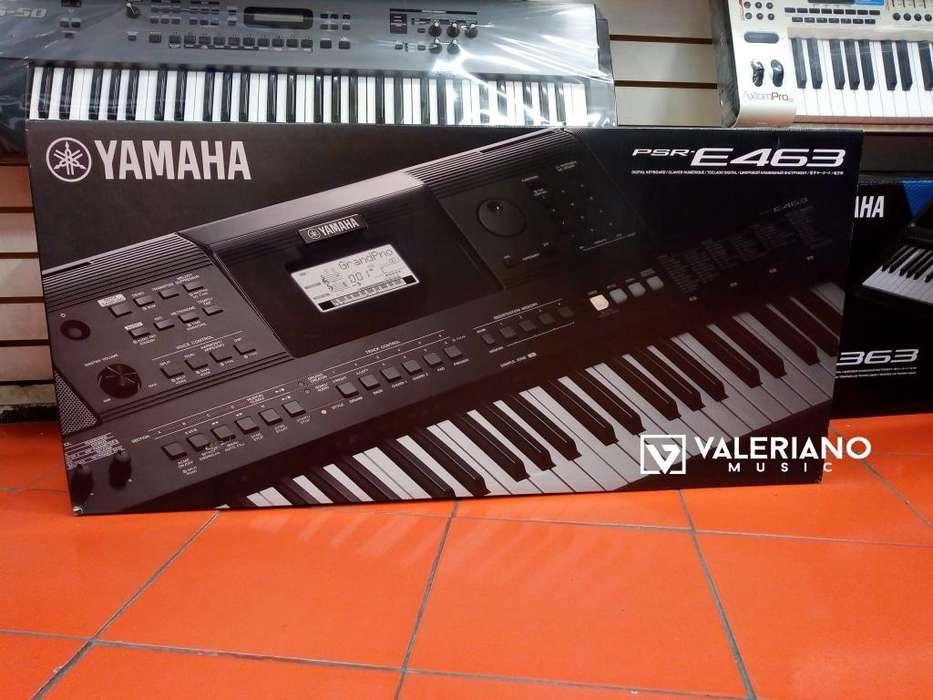 TECLADO PIANO ELECTRONICO YAMAHA PSR 463