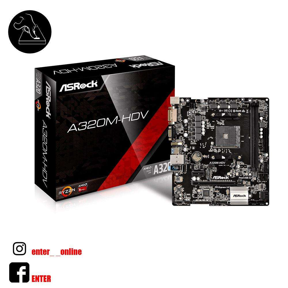 MOTHERBOARD ASROCK A320M HDV Am4
