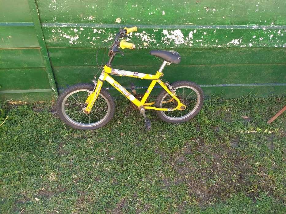 Bicicleta para niño-a rodado 16