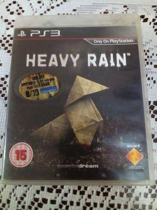 Juego de Ps3 Heavy Rain Play 3